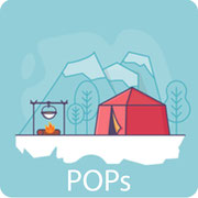 Persistent Organic Pollutants Symbol