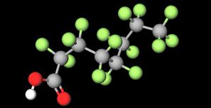 PFOA Molecule