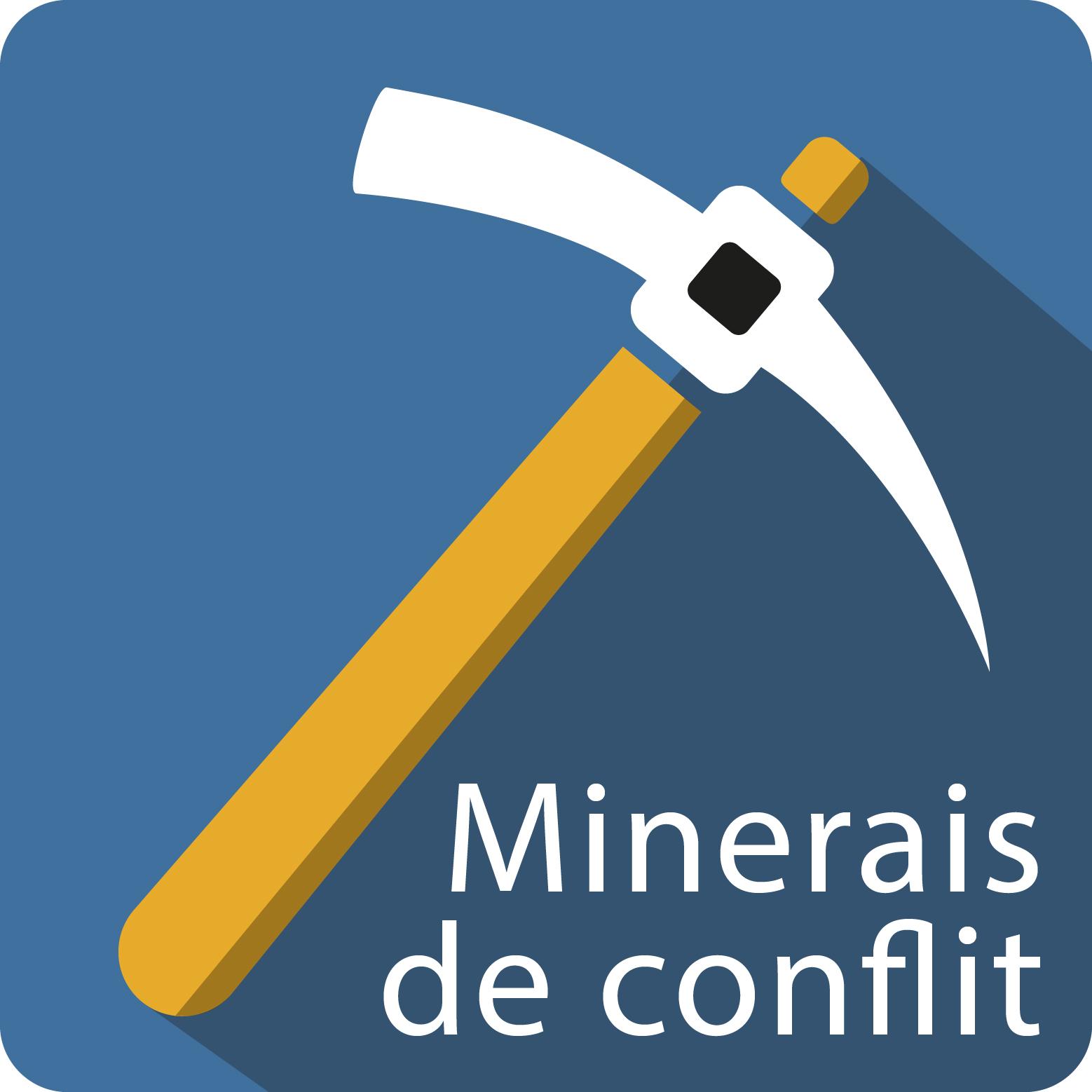 Minerais de conflit Logo